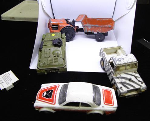 Collection of diecast incl; Brittons, Dinky, Lone Star