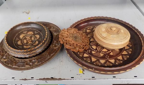 Selection of treen