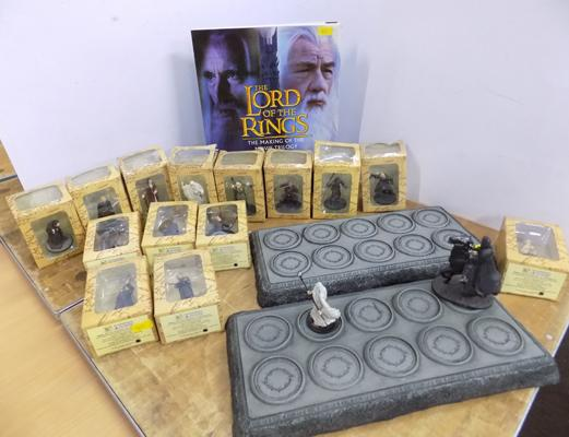 Selection of Lord of The Rings collectables