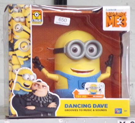 New Minions dancing Dave