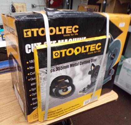 Tool tech electric saw with discs