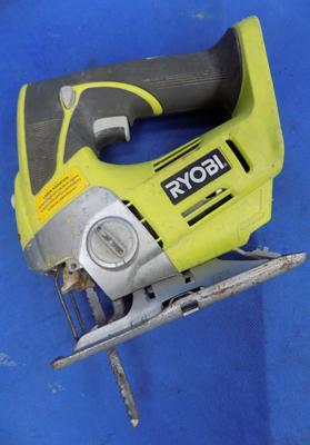 Ryobi 18V jigsaw requires battery and charger - cost £140 bare at machine mart W/O