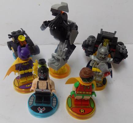 Lego dimensions - Batman characters, vehicles and game disks