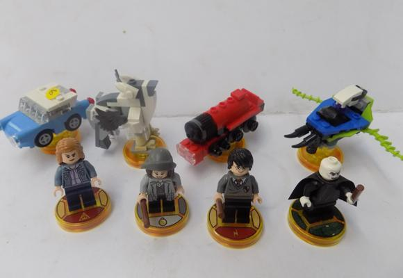 Lego dimensions - Harry Potter & fantastic beasts characters, vehicles and game disks
