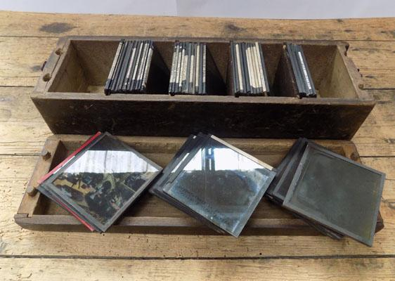Fifty early lantern slides