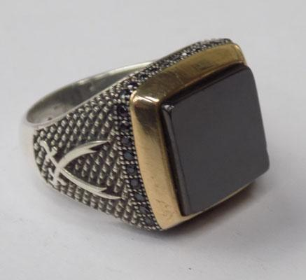 Large gents ring (silver)