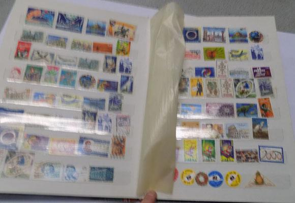 Album of France early to modern stamps - full stock book