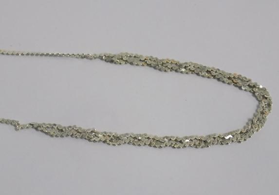 Unusual sterling silver necklace