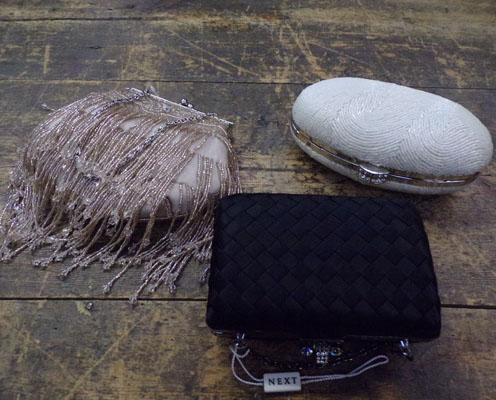 3x evening bags - new and unused
