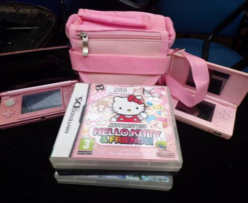 Two Nintendo DS + games