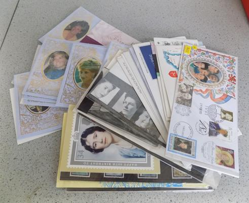 Collection of first day covers etc..., mainly Royal family