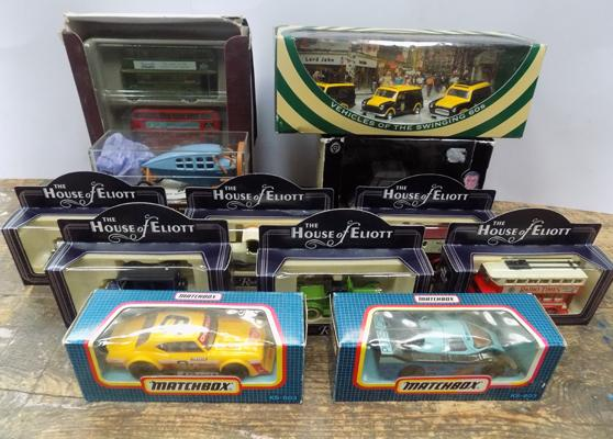 Collection of boxed diecast, incl. James Bond Corgi