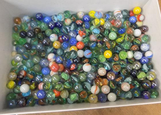 Selection of marbles