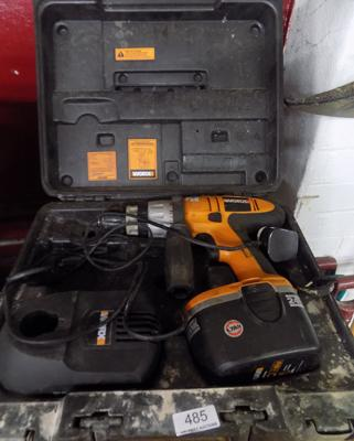 Worx battery drill in working order