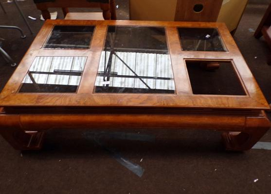 Coffee table (glass missing)