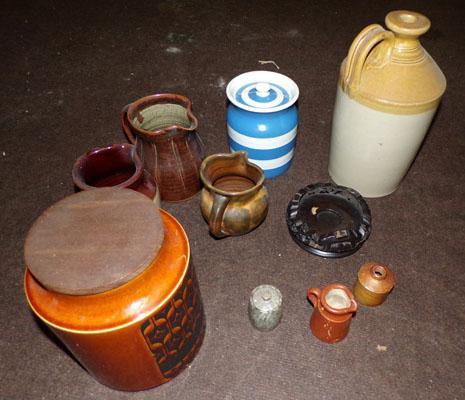 Selection of jugs & others, incl. Hornsea