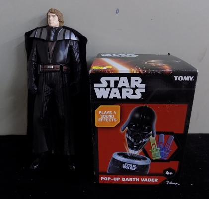 Star Wars figure and game