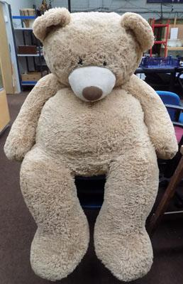 Large soft teddy approx. 60""