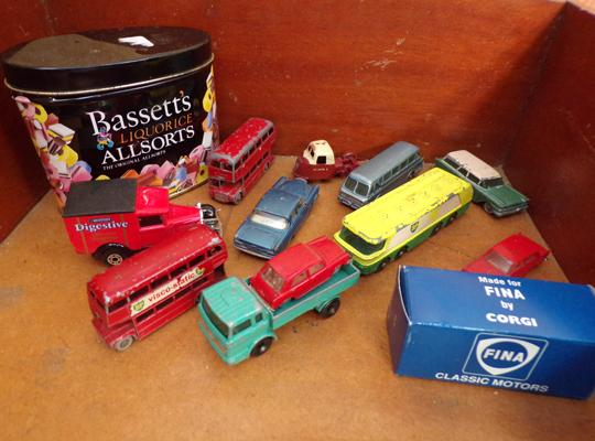 Selection of diecast vehicles