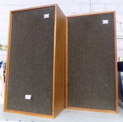 2 Wharfedale stereo speakers
