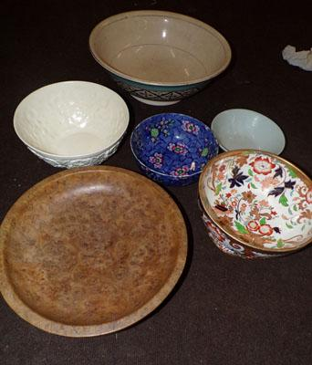 Selection of large bowls, incl. Spode