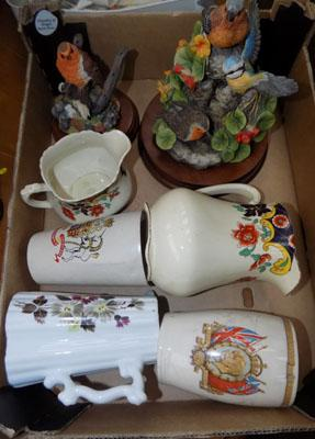 Selection of ceramics including Wedgwood pottery & Border fine art & others