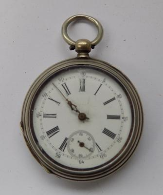 Antique pocket watch, key wound