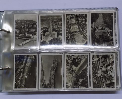 Eight full sets of cigarette & trade cards