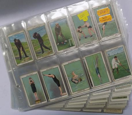 Sporting cigarette cards
