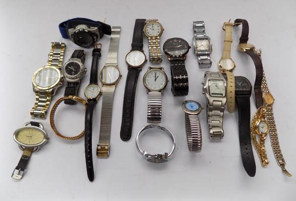 Twenty named watches, mainly gents