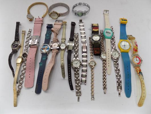 20 assorted watches