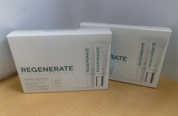 Regenerate enamel tooth whitening kits x2