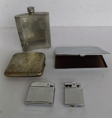 Gentlemans items inc Harrods hipflask