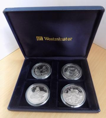 Westminster Republic of Palau 1 $ coin set