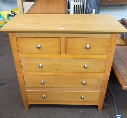 Chest of drawers - 2 over 3