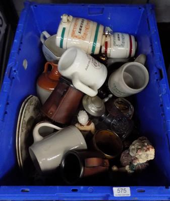 Large tub of mixed ceramics