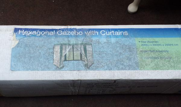 Boxed hexagonal gazebo (not checked)