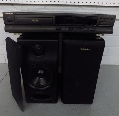 Technic's CD player + speakers - SL - PG360A