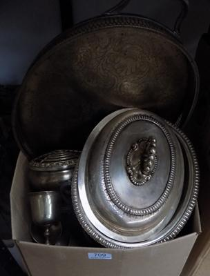 Large amount of mixed metal items
