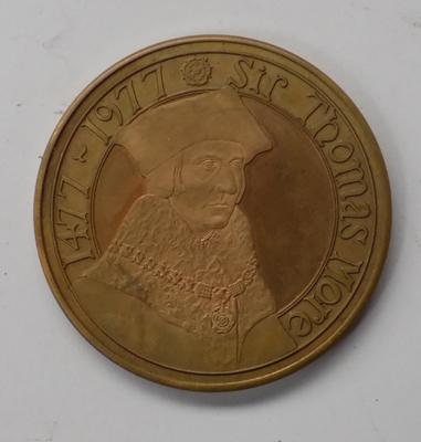 1477-1977 Sir Thomas Moore Tower of London coin