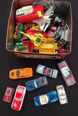 Selection of diecast incl. Corgi and Dinky