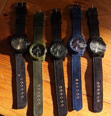 5 Gemius army watches