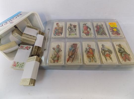 Cigarette cards & others