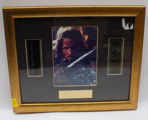 Lord of the Rings 'Aragorn' original film cell