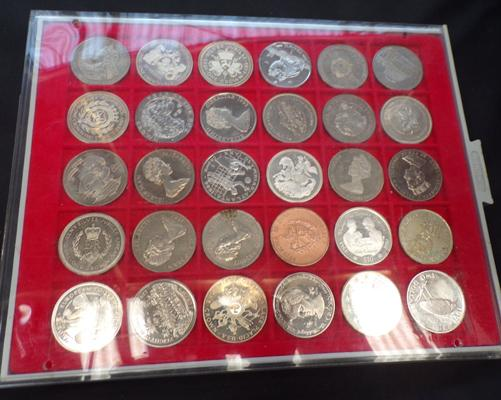 30 collector's coins