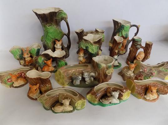 Collection of Hornsea pottery