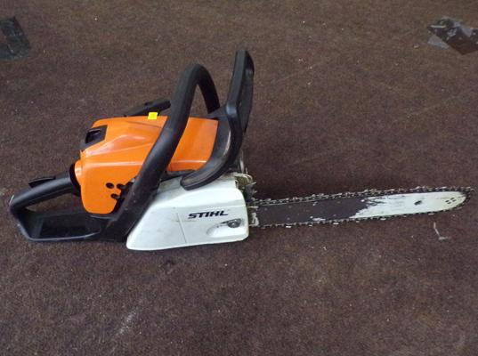 Stihl petrol chainsaw - good working order - very little use, as new