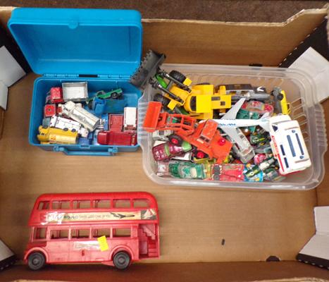 Selection of diecast incl. Lesneys and Matchbox