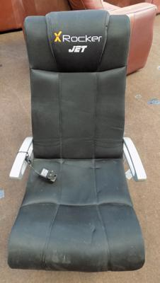X-Rocker 'Jet' gaming chair and charger