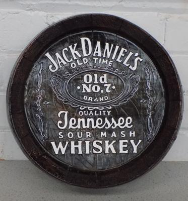Jack Daniels old time whiskey wall plaque